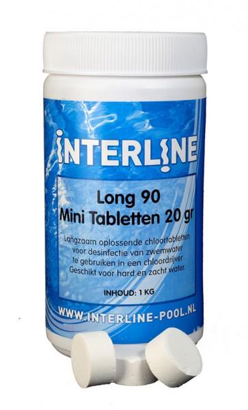 Interline Chlortabletten 90Long 20gr/1kg