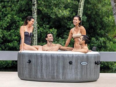 Intex Greywood Deluxe opblaasbare spa